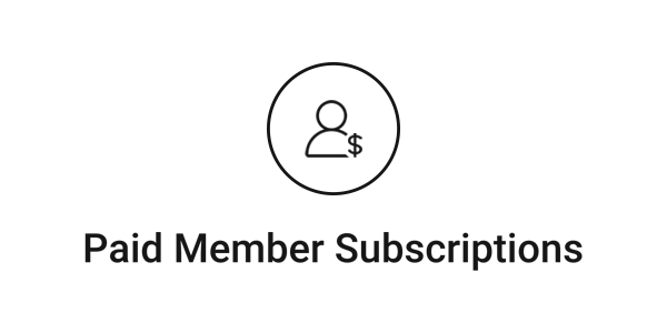 Paid Member Subscriptions logo.